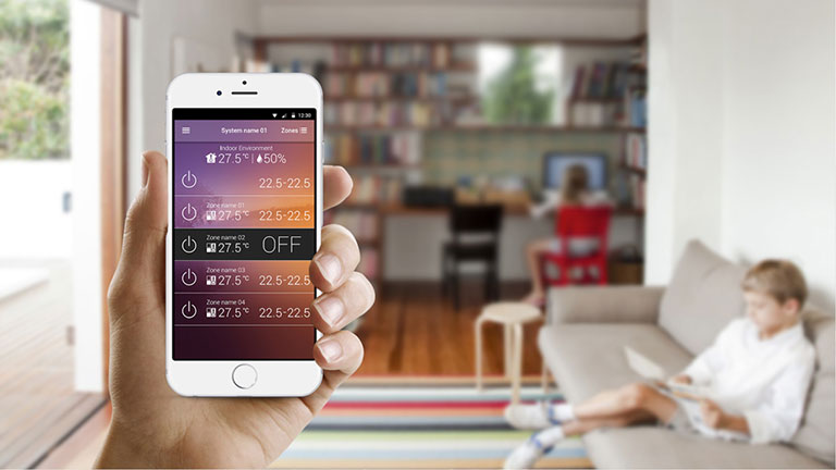Control your Air Conditioning System Remotely